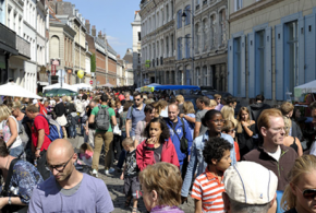Quelques Chiffres autour de La Braderie de Lille 2015