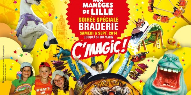 Tout savoir sur La Foire aux Manèges de la Braderie de Lille 2014