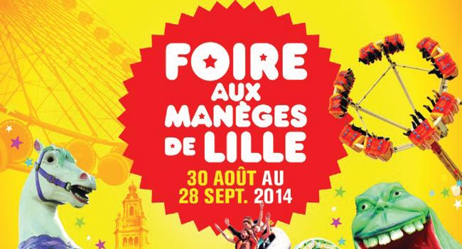 Tout Savoir sur La Foire aux Manèges de Lille 2014