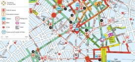 Plan de la Braderie de Lille 2014