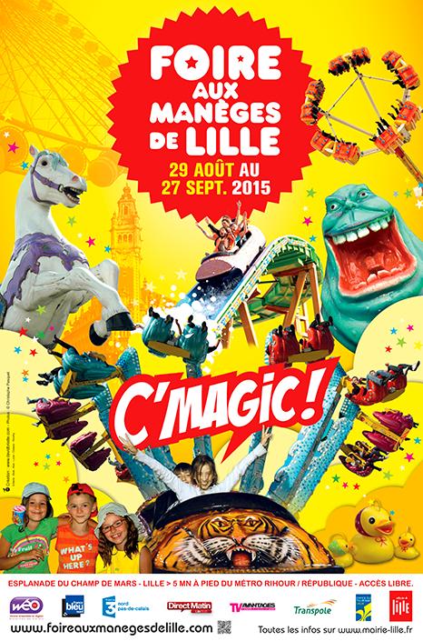 La Foire aux Manèges de Lille 2015