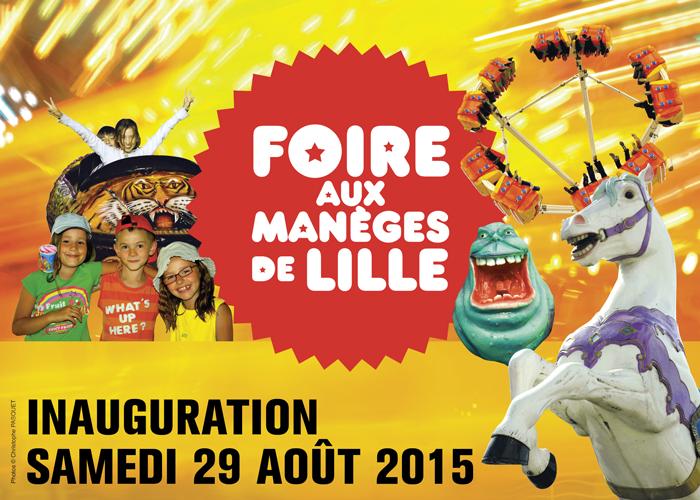 Inauguration de la Foire aux Manèges 2015 !
