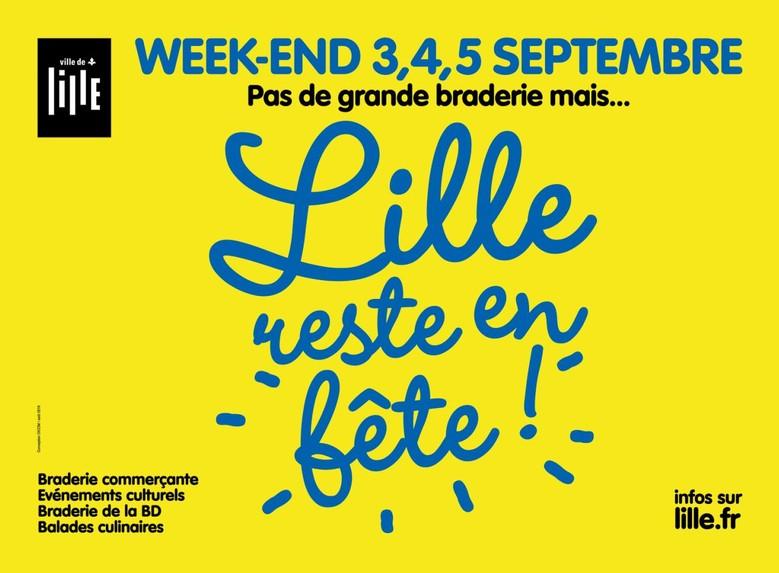 """Voici le programme de """"Lille reste en fête"""""""