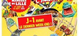 Dernier Week-end de la Foire aux Manèges de Lille