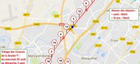 Le semi Marathon de la Braderie de Lille 2017