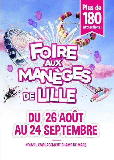 Foire aux Manèges Lille 2017 : Les Journées Promotionnelles !