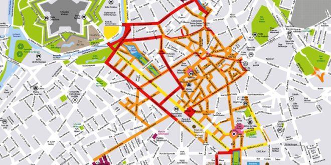 Plan de la Braderie de Lille 2018 !