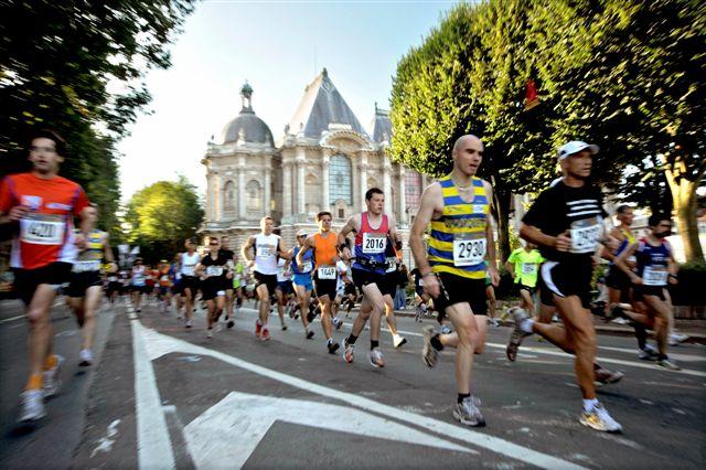 Le semi-marathon de la braderie de Lille 2020